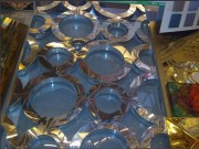 laser cut screens big circle pattern
