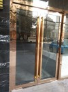 decorative stainless steel door