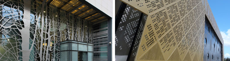 laser cut architectural screens