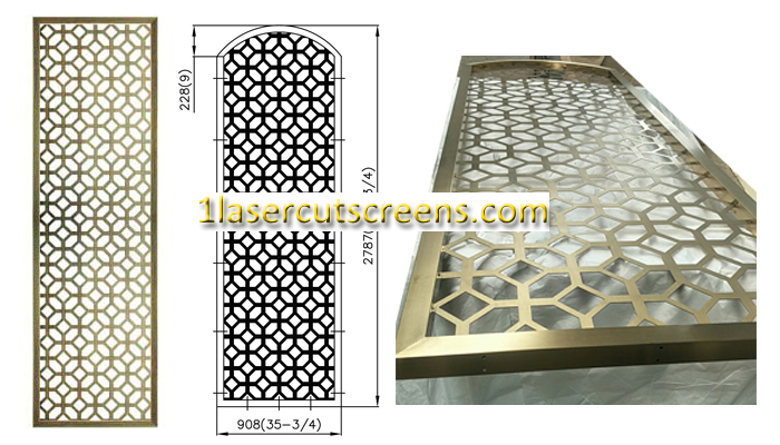 decorative metal screens USA